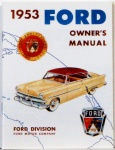 1953 Ford Car Owners Manual