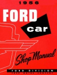 1956 Ford Car Repair Manual