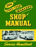 1942, 1946, 1947, 1948 Ford Car Shop Manual
