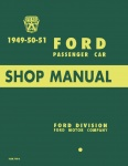 1949, 1950, 1951 Ford Car Repair Manual