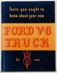 1936 Ford Truck Owners Manual