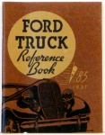 1937 Ford Truck Owners Manual