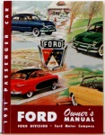 1951 Ford Car Owners Manual