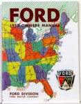 1952 Ford Car Owners Manual