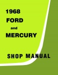 1968 Ford and Mercury Big Car Repair Manual