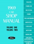 1969 Ford Car Repair Manual