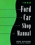 1959 Ford Car Repair Manual