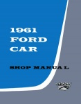 1961 Ford Car Repair Manual