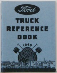 1940 Ford Truck Owners Manual