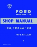 1952, 1953, 1954 Ford Car Repair Manual