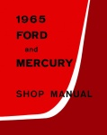1965 Ford and Mercury Big Car Repair Manual