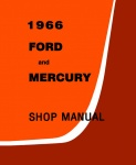 1966 Ford and Mercury Big Car Repair Manual