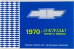 1970 Chevy Car Owners Manual