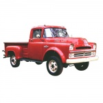 1957 DODGE TRUCK REPAIR MANUAL