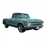 1968 CHEVY PICKUP & TRUCK REPAIR MANUAL & OVERHAUL MANUAL