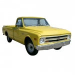 1969 CHEVROLET PICKUP & TRUCK REPAIR MANUAL & OVERHAUL MANUAL