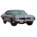 1969 PONTIAC REPAIR & BODY MANUALS - ALL MODELS