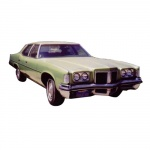 1972 PONTIAC REPAIR & BODY MANUALS - ALL MODELS