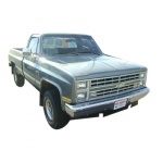 1986-1987 CHEVROLET TRUCK SHOP AND OVERHAUL MANUALS
