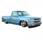 1988-1989 CHEVROLET TRUCK SHOP AND OVERHAUL MANUALS