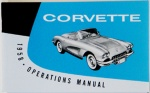 1958 Corvette Owners Manual