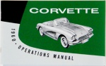 1960 Corvette Owners Manual