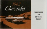 1962 Chevy Car Owners Manual