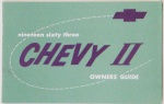 1963 Chevy II Owners Manual