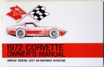 1972 Corvette Owners Manual