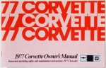1977 Corvette Owners Manual