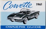 1961 Corvette Owners Manual