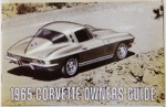 1965 Corvette Owners Manual