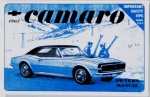 1967 Camaro Owners Manual