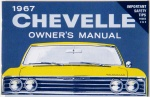 1967 Chevelle Owners / El Camino Owners Manual