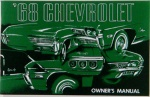 1968 Chevy Car Owners Manual