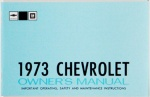 1973 Chevy Car Owners Manual