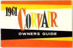 1961 Corvair Owners Manual