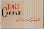 1963 Corvair Owners Manual