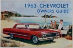 1963 Chevy Car Owners Manual