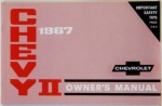 1967 Chevy II Owners Manual