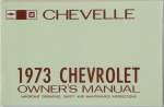 1973 Chevelle Owners / El Camino Owners Manual