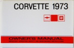 1973 Corvette Owners Manual