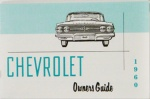 1960 Chevy Car Owners Manual / El Camino Owners Manual