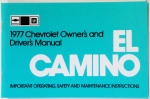 1977 El Camino Owners Manual