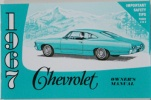 1967 Chevy Car Owners Manual