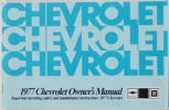 1977 Chevy Car Owners Manual