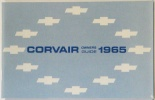 1965 Corvair Owners Manual
