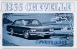 1966 Chevelle Owners / El Camino Owners Manual