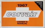 1967 Corvair Owners Manual