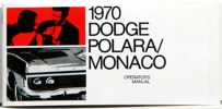 1970 Dodge Monaco/Polara Owners Manual